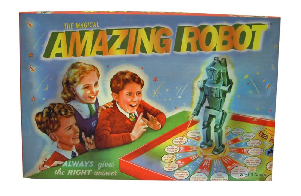 The Magical Amazing Robot Retro Family Board Game